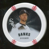 2013 Topps Chipz Silver #JD John Danks