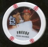 2013 Topps Chipz Silver #DF David Freese