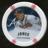 2013 Topps Chipz Silver #CJ Chipper Jones
