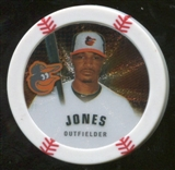 2013 Topps Chipz Silver #AJO Adam Jones