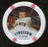 2013 Topps Chipz Silver #TL Tim Lincecum
