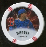 2013 Topps Chipz Silver #MN Mike Napoli