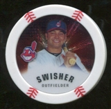 2013 Topps Chipz Silver #NS Nick Swisher