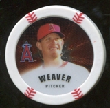 2013 Topps Chipz Silver #JW Jered Weaver