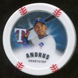 2013 Topps Chipz Glow in the Dark #EA Elvis Andrus