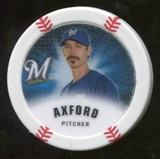 2013 Topps Chipz Glow in the Dark #JAX John Axford