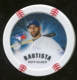 2013 Topps Chipz Glow in the Dark #JB Jose Bautista