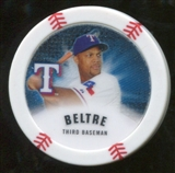 2013 Topps Chipz Glow in the Dark #ABE Adrian Beltre