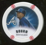 2013 Topps Chipz Glow in the Dark #MB Michael Bourn