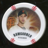2013 Topps Chipz Glow in the Dark #MBU Madison Bumgarner