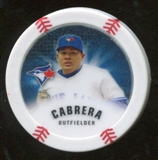 2013 Topps Chipz Glow in the Dark #MCA Melky Cabrera