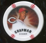 2013 Topps Chipz Glow in the Dark #AC Aroldis Chapman