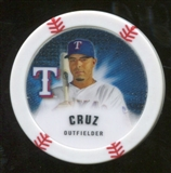 2013 Topps Chipz Glow in the Dark #NC Nelson Cruz
