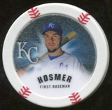 2013 Topps Chipz Glow in the Dark #EH Eric Hosmer