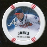 2013 Topps Chipz Glow in the Dark #CJ Chipper Jones