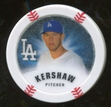 2013 Topps Chipz Glow in the Dark #CK Clayton Kershaw