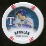 2013 Topps Chipz Glow in the Dark #IK Ian Kinsler