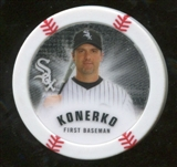 2013 Topps Chipz Glow in the Dark #PK Paul Konerko
