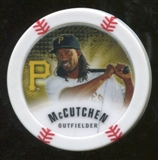 2013 Topps Chipz Glow in the Dark #AM Andrew McCutchen