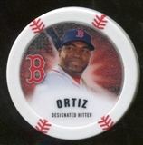 2013 Topps Chipz Glow in the Dark #DO David Ortiz
