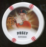 2013 Topps Chipz Glow in the Dark #BPO Buster Posey