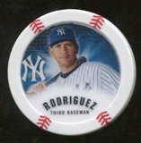 2013 Topps Chipz Glow in the Dark #ARO Alex Rodriguez