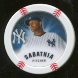 2013 Topps Chipz Glow in the Dark #CS CC Sabathia