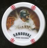 2013 Topps Chipz Glow in the Dark #PS Pablo Sandoval