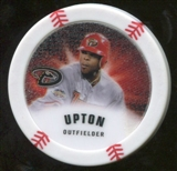 2013 Topps Chipz Glow in the Dark #JU Justin Upton