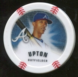 2013 Topps Chipz Glow in the Dark #BU B.J. Upton