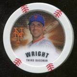 2013 Topps Chipz Glow in the Dark #DW David Wright