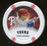 2013 Topps Chipz Glow in the Dark #MY Michael Young