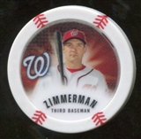 2013 Topps Chipz Glow in the Dark #RZ Ryan Zimmerman