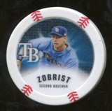 2013 Topps Chipz Glow in the Dark #BZ Ben Zobrist
