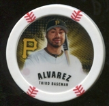 2013 Topps Chipz Magnets #PA Pedro Alvarez