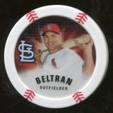 2013 Topps Chipz Magnets #CB Carlos Beltran