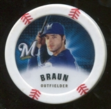 2013 Topps Chipz Magnets #RB Ryan Braun