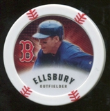 2013 Topps Chipz Magnets #JE Jacoby Ellsbury