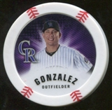 2013 Topps Chipz Magnets #CG Carlos Gonzalez