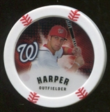 2013 Topps Chipz Magnets #BH Bryce Harper