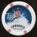 2013 Topps Chipz Magnets #EL Evan Longoria