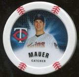 2013 Topps Chipz Magnets #JM Joe Mauer