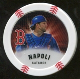 2013 Topps Chipz Magnets #MN Mike Napoli