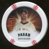2013 Topps Chipz Magnets #AP Angel Pagan