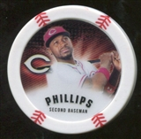 2013 Topps Chipz Magnets #BP Brandon Phillips