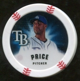 2013 Topps Chipz Magnets #DPR David Price