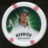2013 Topps Chipz Magnets #JR Josh Reddick
