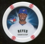 2013 Topps Chipz Magnets #JRE Jose Reyes