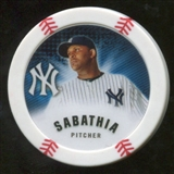 2013 Topps Chipz Magnets #CS CC Sabathia