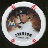 2013 Topps Chipz Magnets #GS Giancarlo Stanton